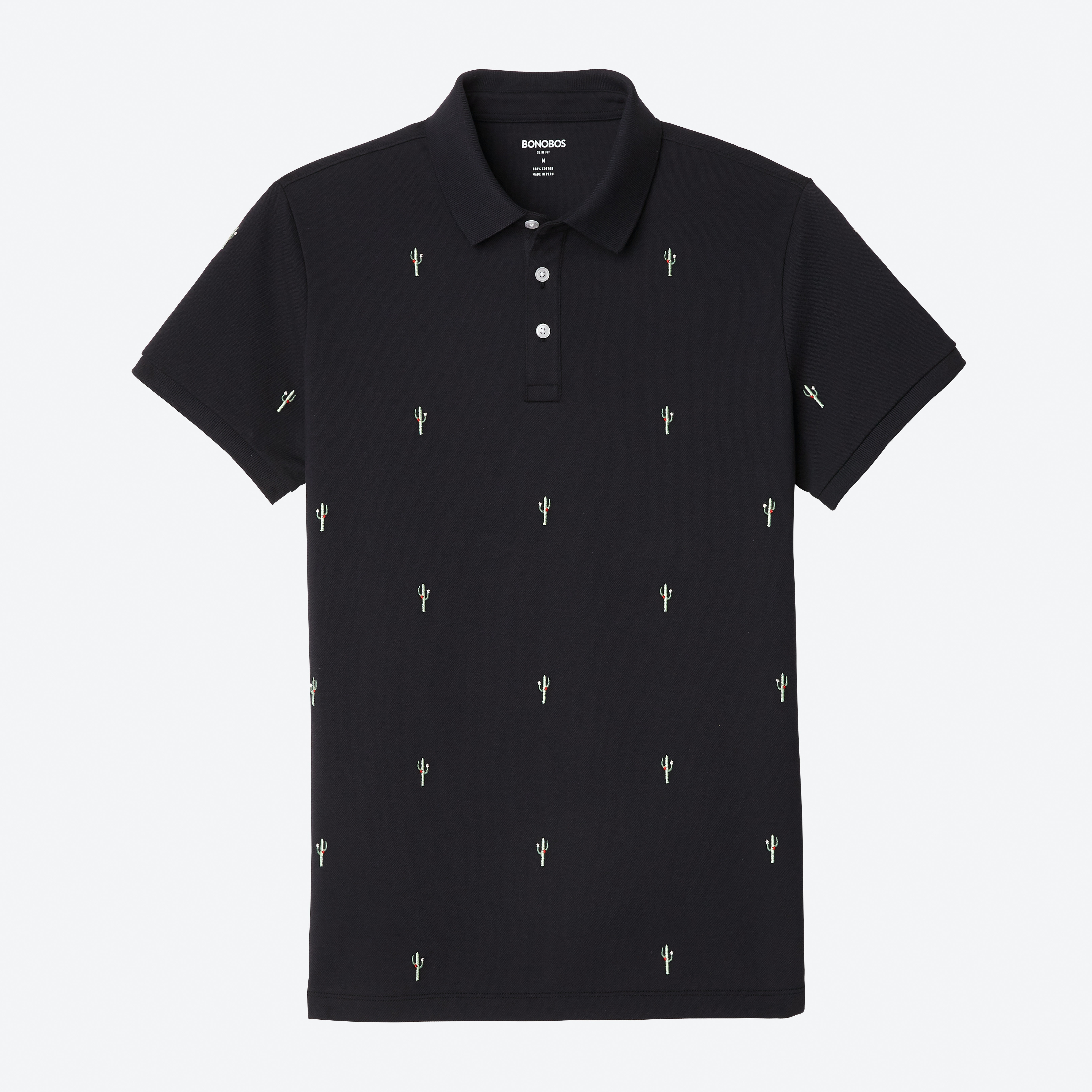 Embroidered Pique Polo