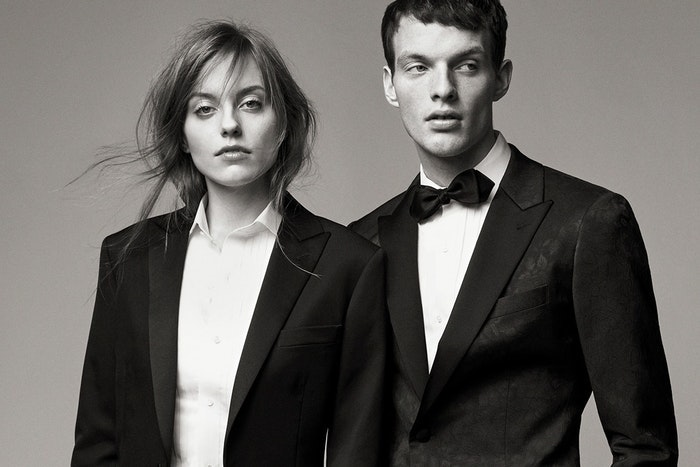Editorial photo for Black Tie Looks category