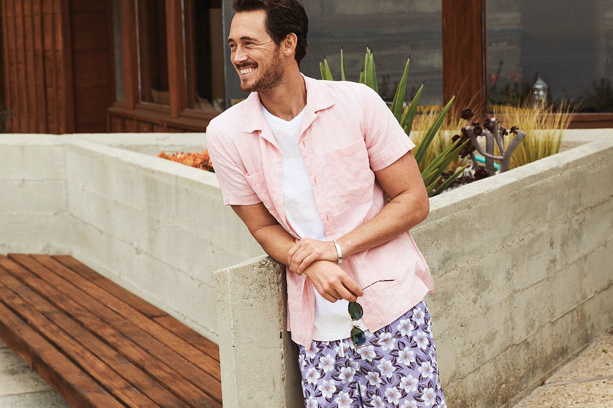 Editorial photo for Beach Short Sleeve Shirt category