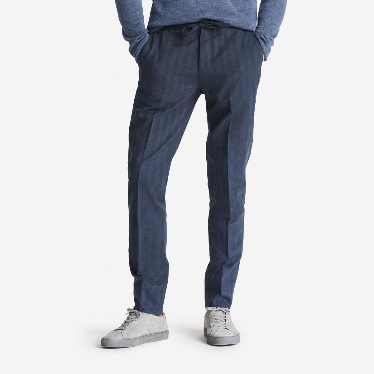 Lightweight Italian Cotton Suit Pant