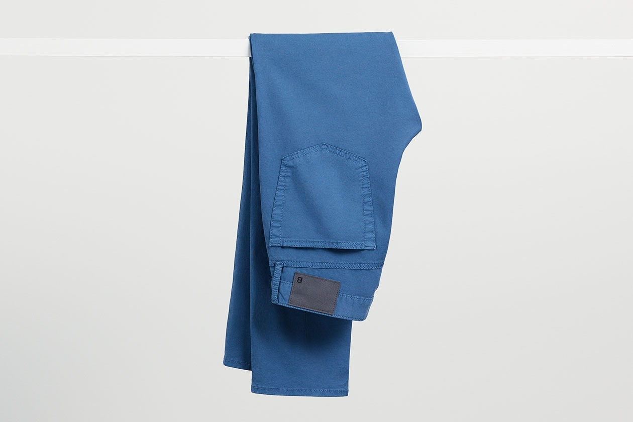 Editorial photo for Summer Weight Italian 5-Pocket Pants category
