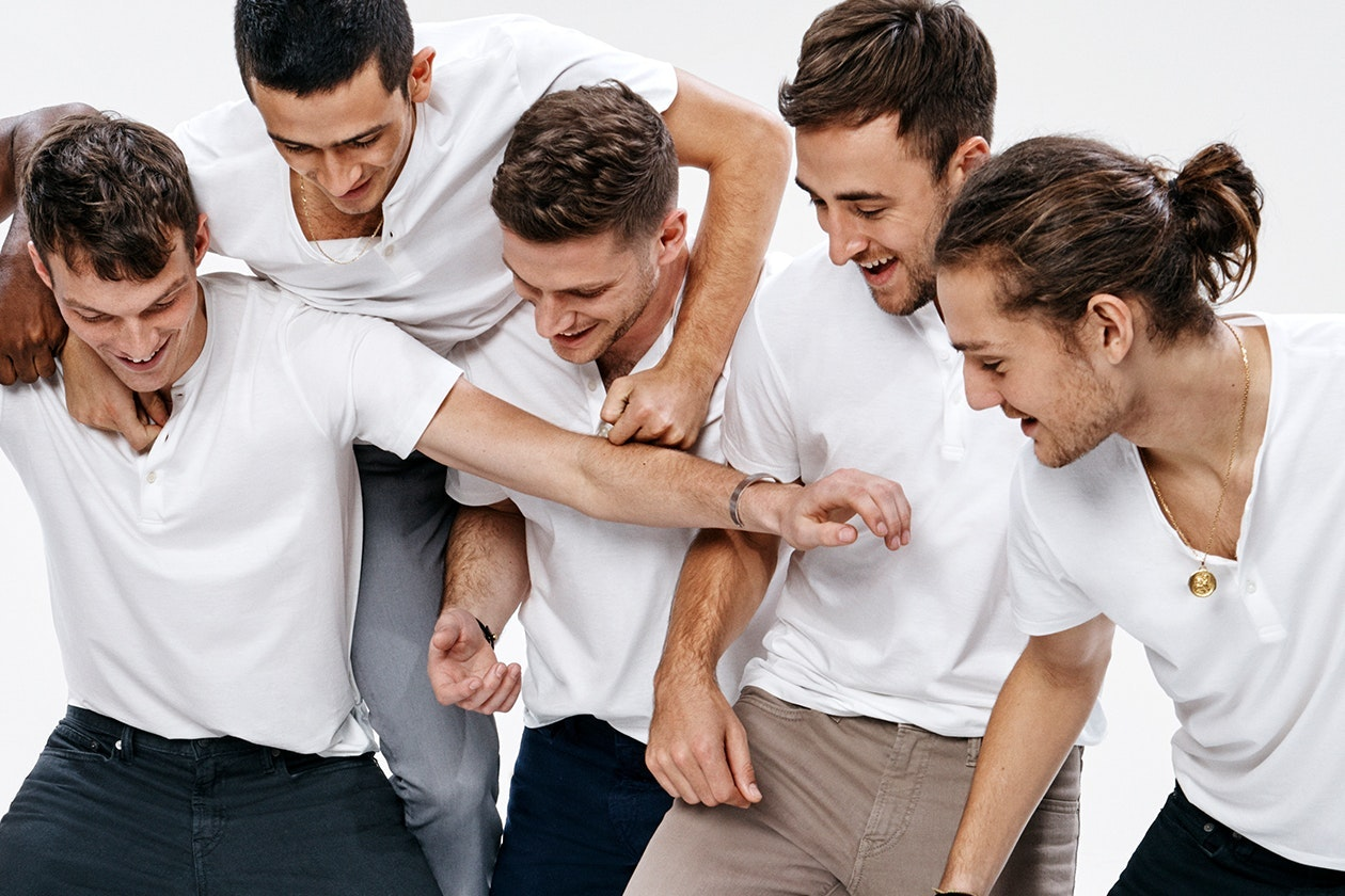 Editorial photo for Superfine Henleys category