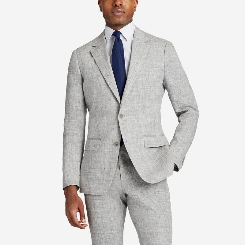 Lightweight Italian Linen Suit Jacket