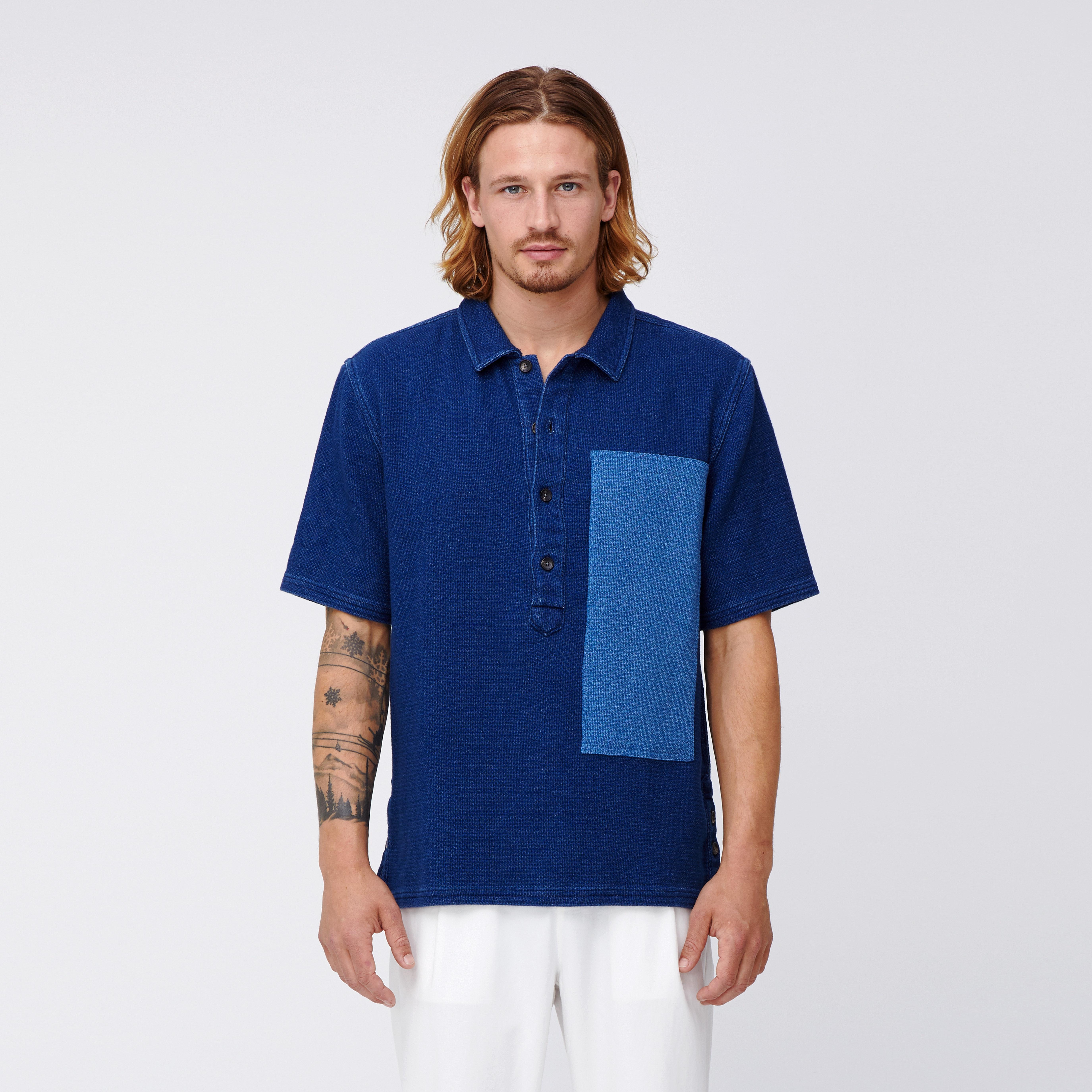 Thaddeus x Bonobos Short Sleeve Cabana Shirt