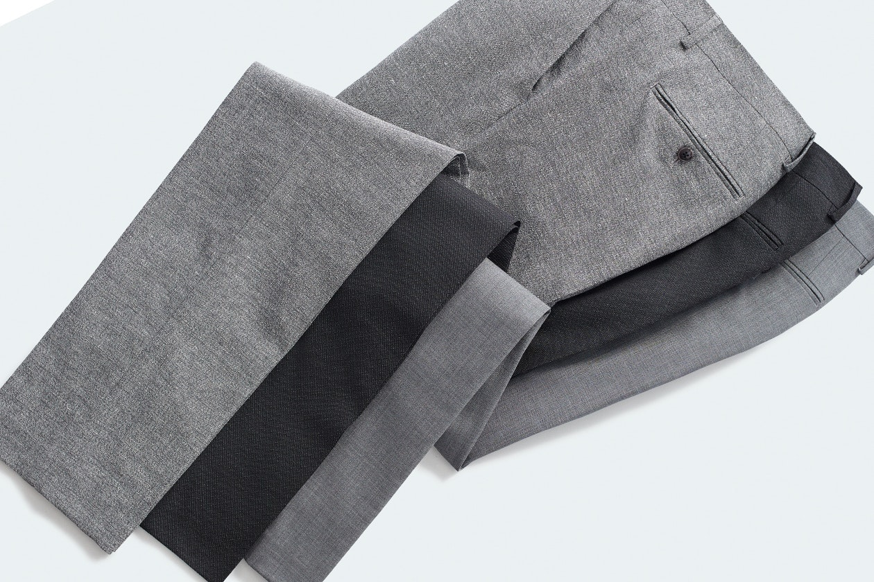 Editorial photo for Stretch Wool Dress Pants category