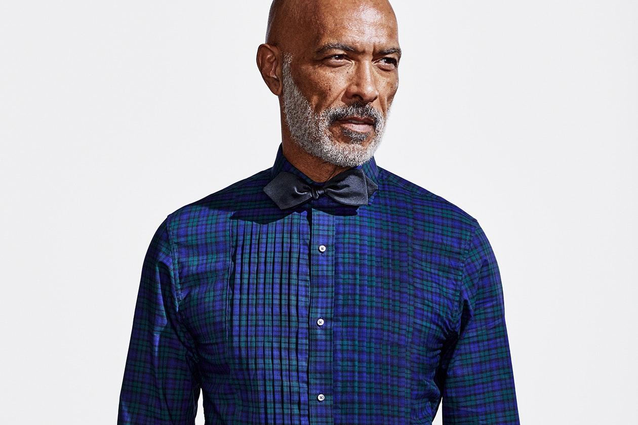 Editorial photo for Tuxedo Shirts category