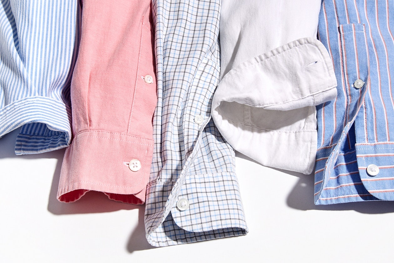Editorial photo for Stretch Oxford Shirts category