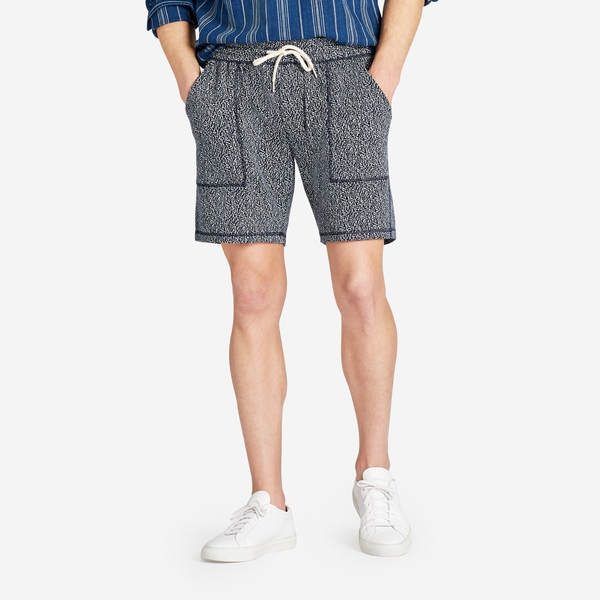French Terry Fatigue Shorts