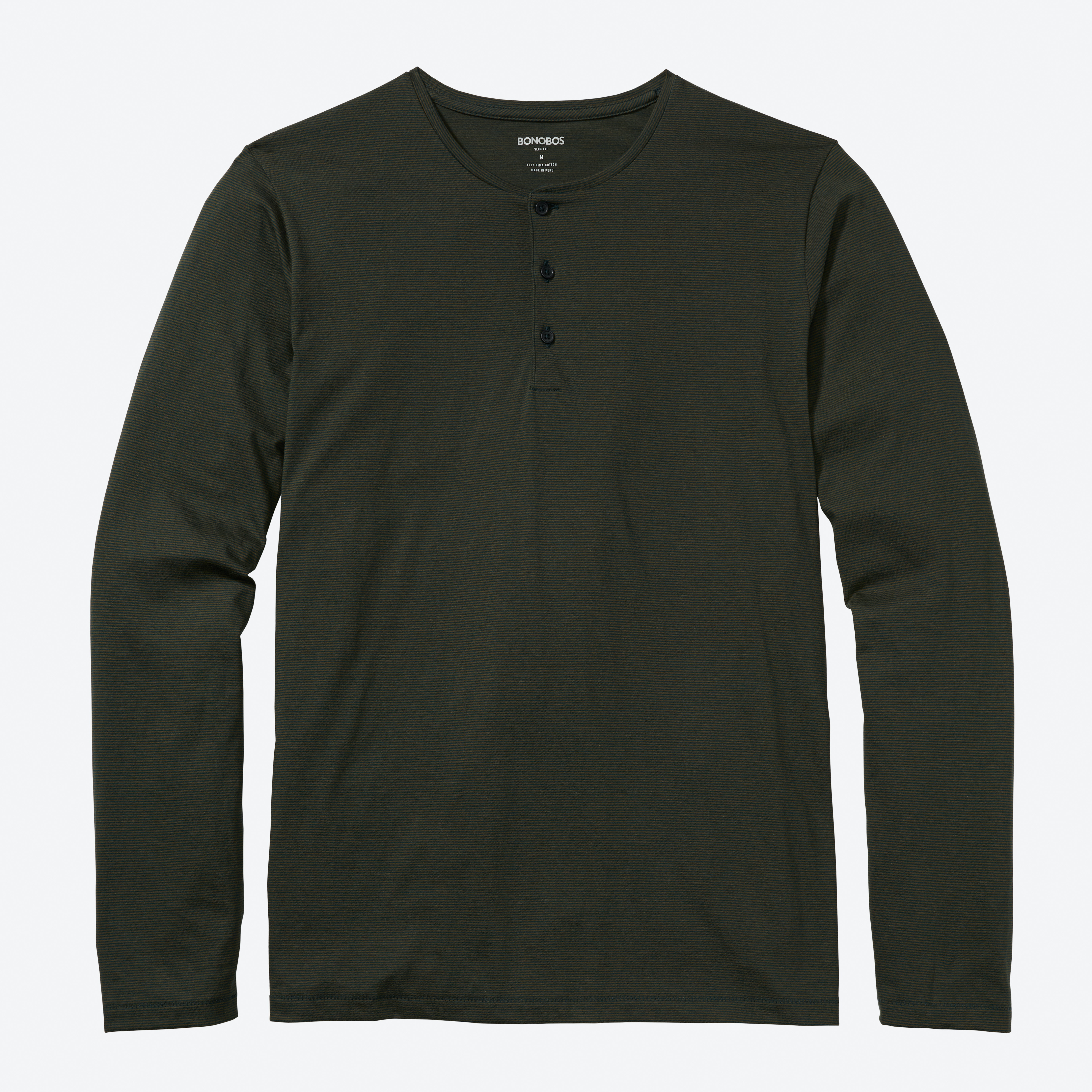 Superfine Long Sleeve Henley