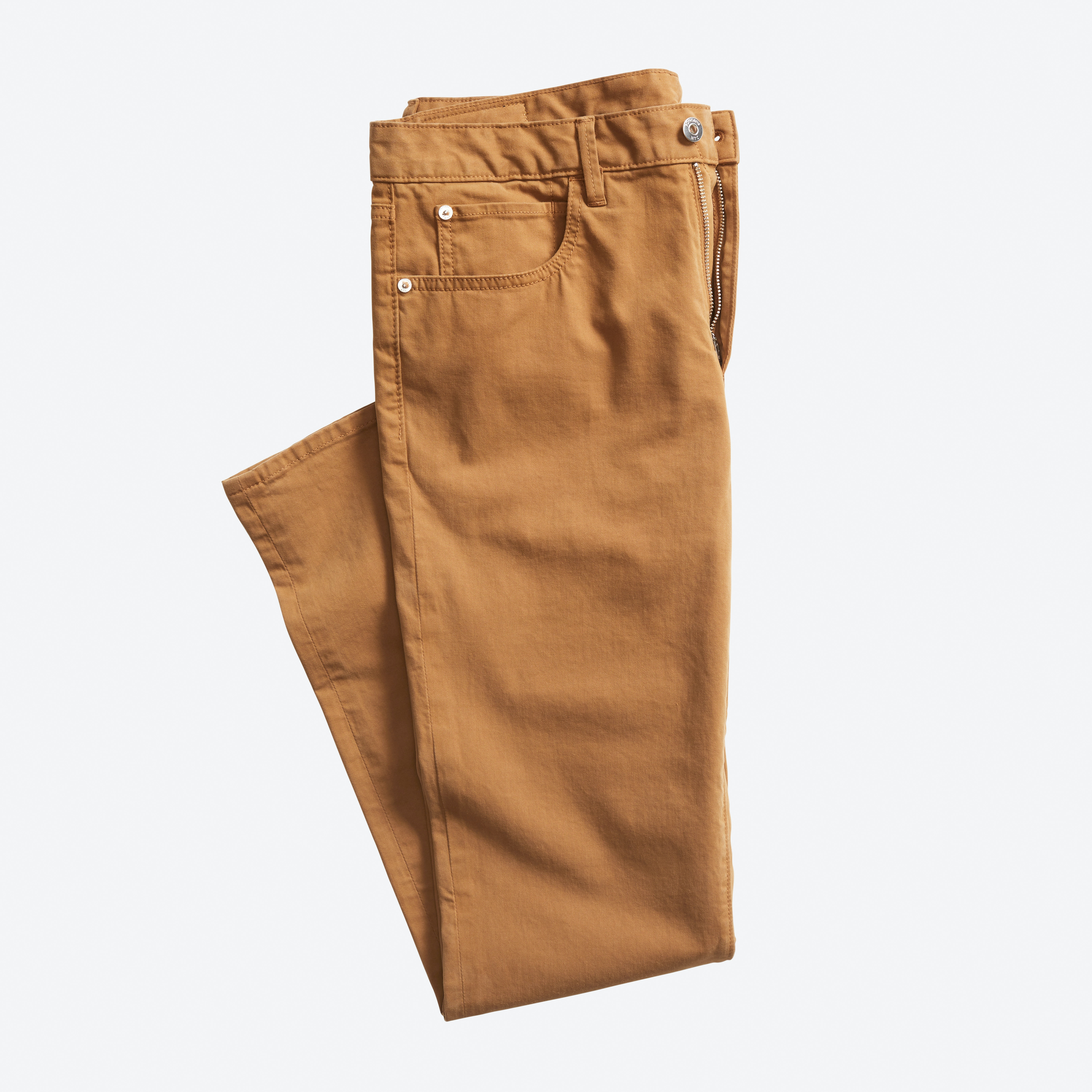 Italian Brushed 5-Pocket Pant
