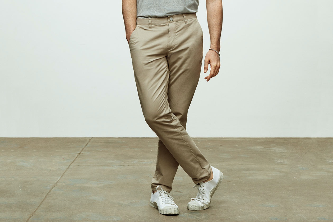 Editorial photo for Stretch Washed Chinos category