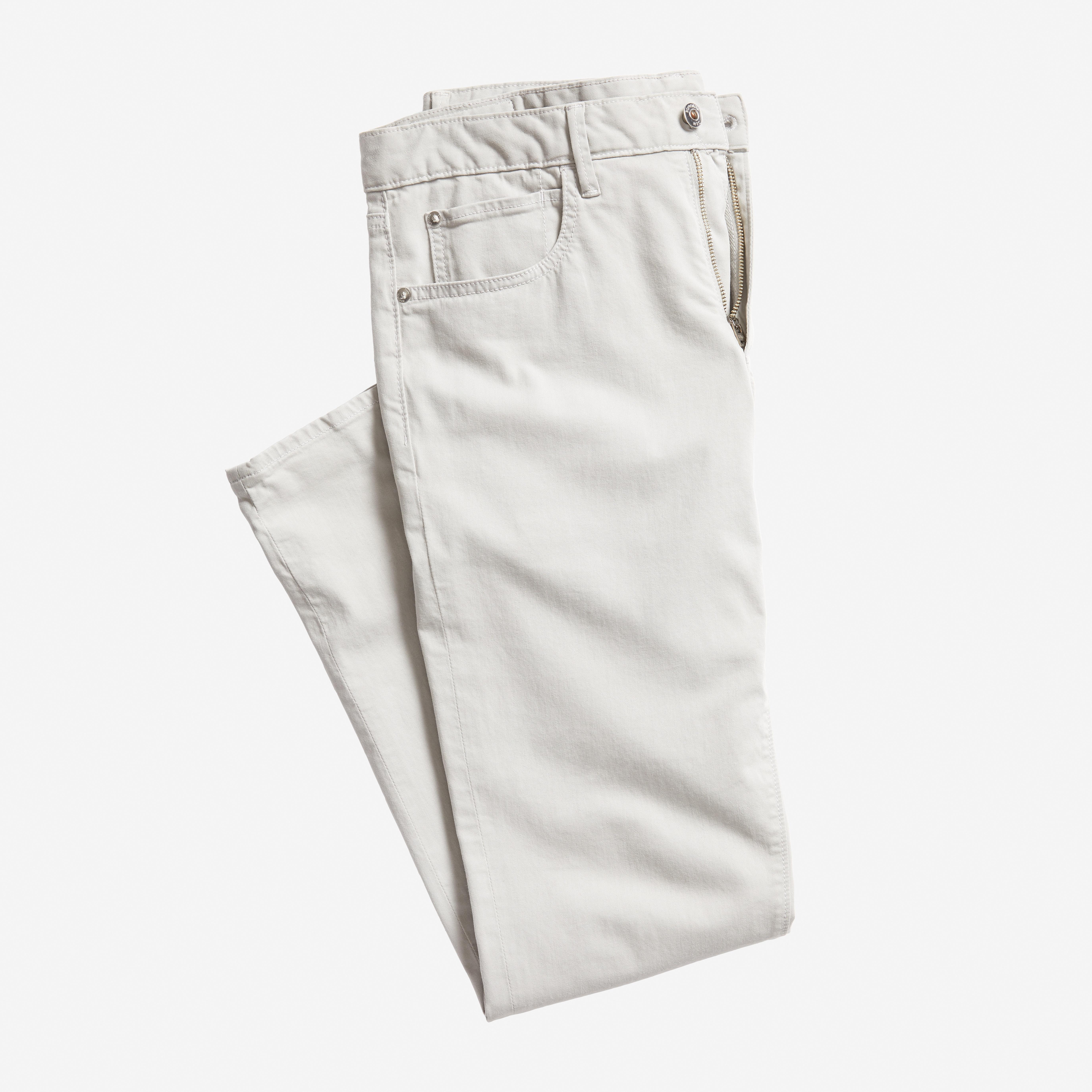 Italian Brushed 5-Pocket Pant