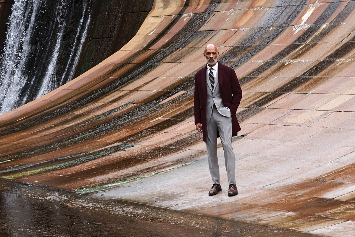 Editorial photo for The Stretch Italian Wool Topcoat category
