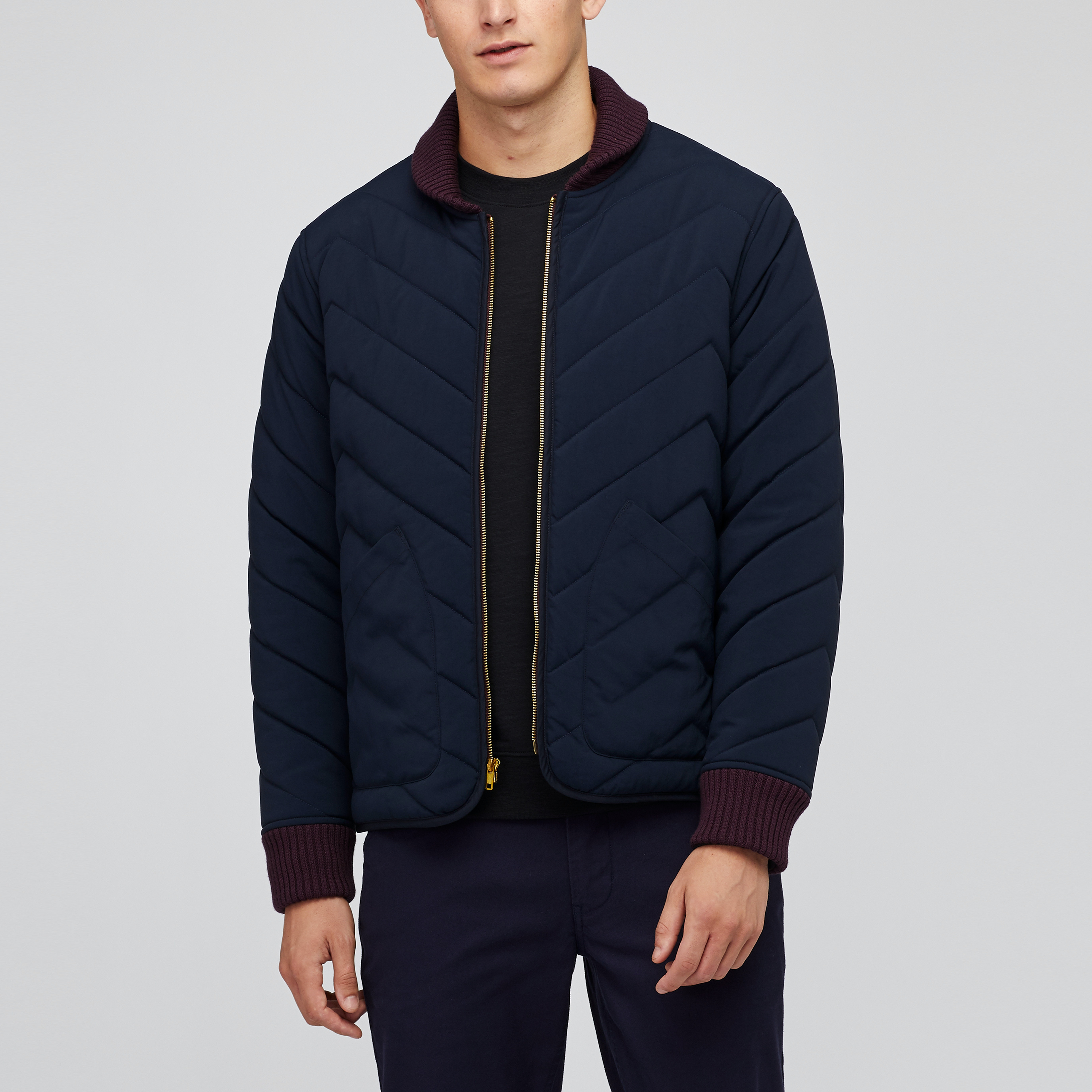 The Quilted Zig-Zag Bomber