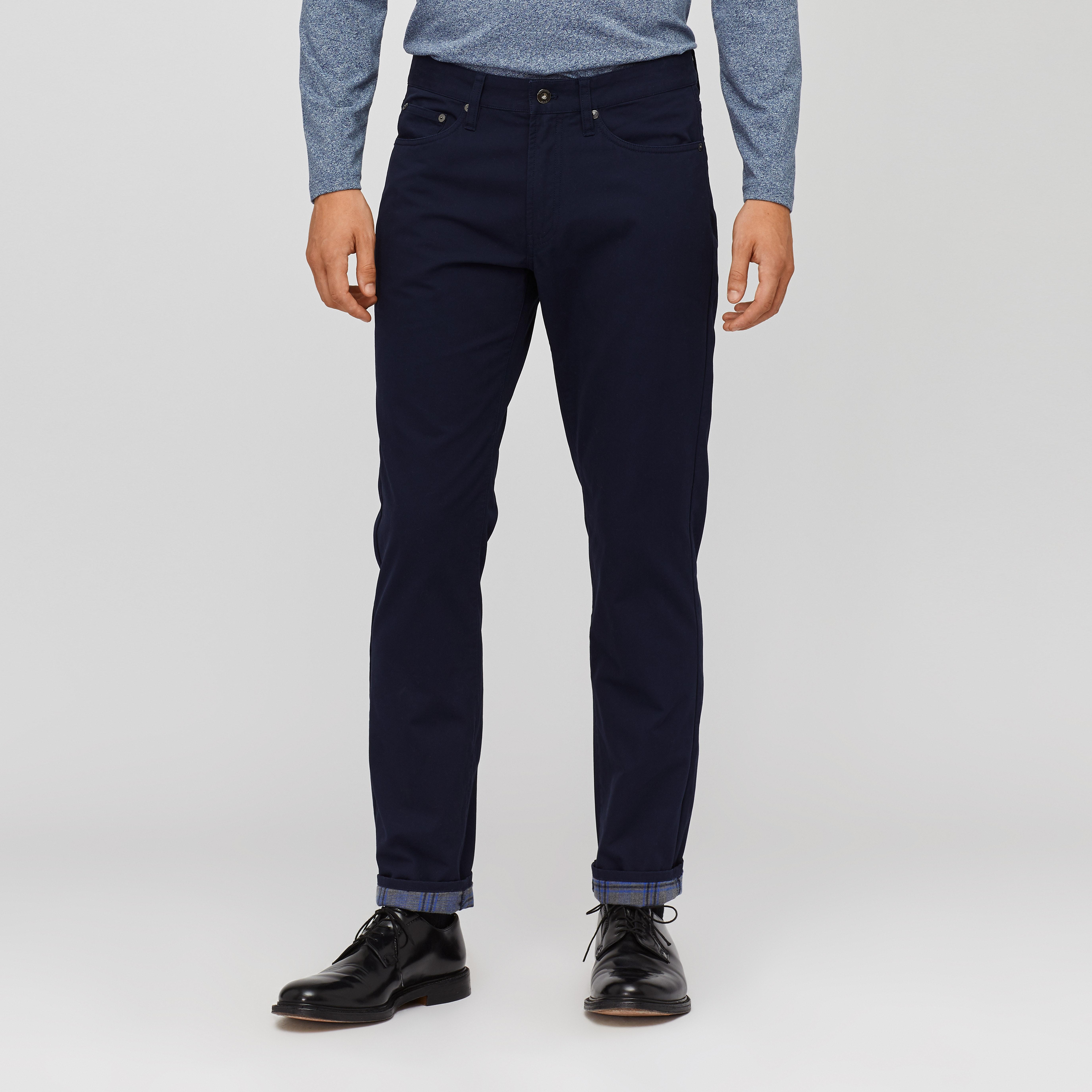Flannel Lined 5-Pocket Pants