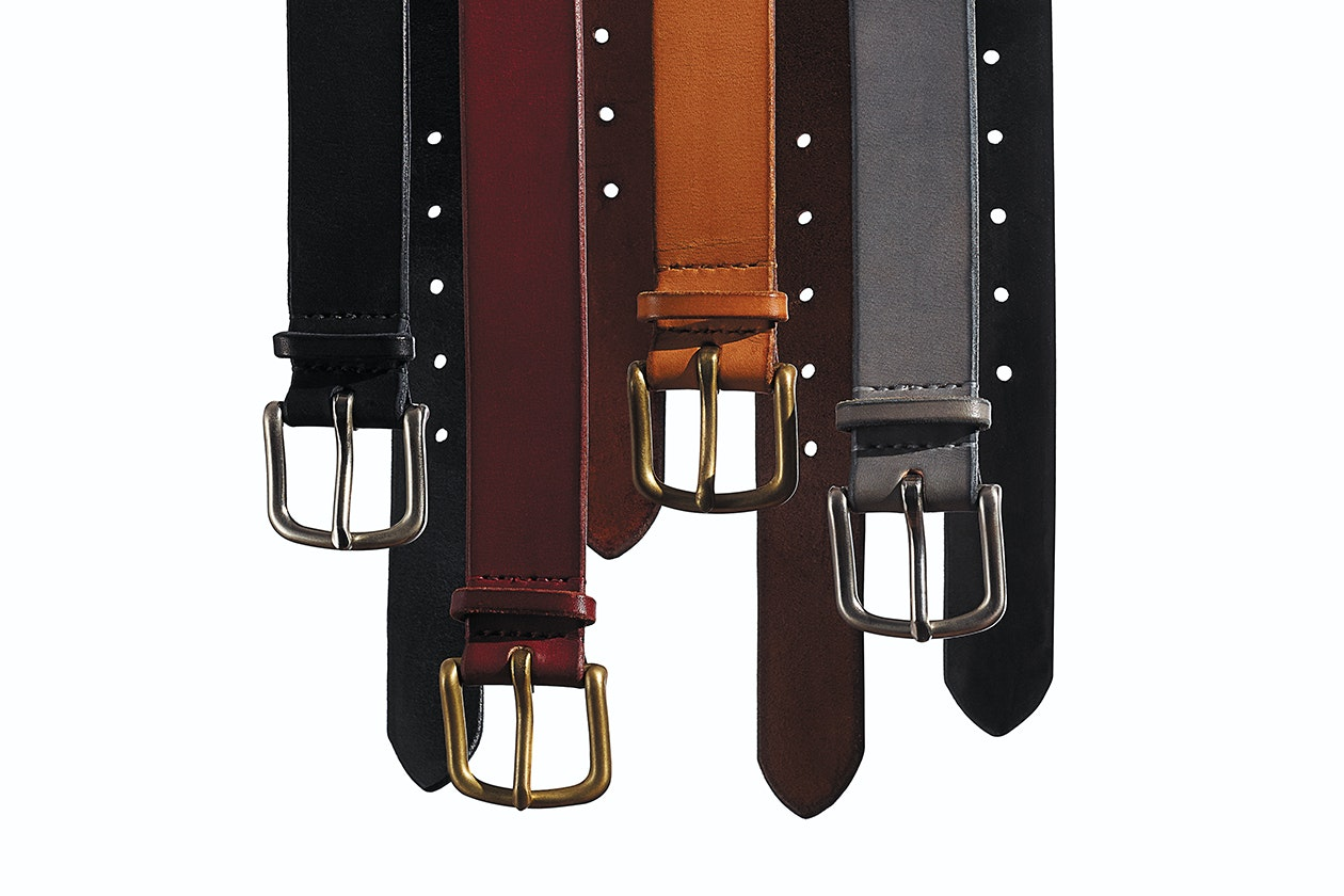 Editorial photo for Maximum Henry x Bonobos Leather Belts category