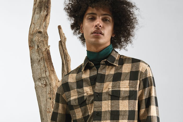 Editorial photo for Flannel Shirts category