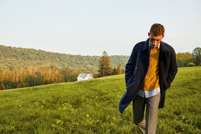 Editorial photo for The Italian Wool Topcoat category
