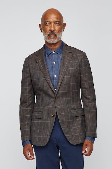 Unconstructed Wool Blazer