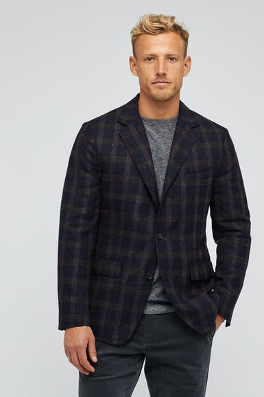 Quilted Tech Blazer