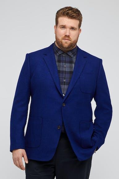 Unconstructed British Wool Blazer