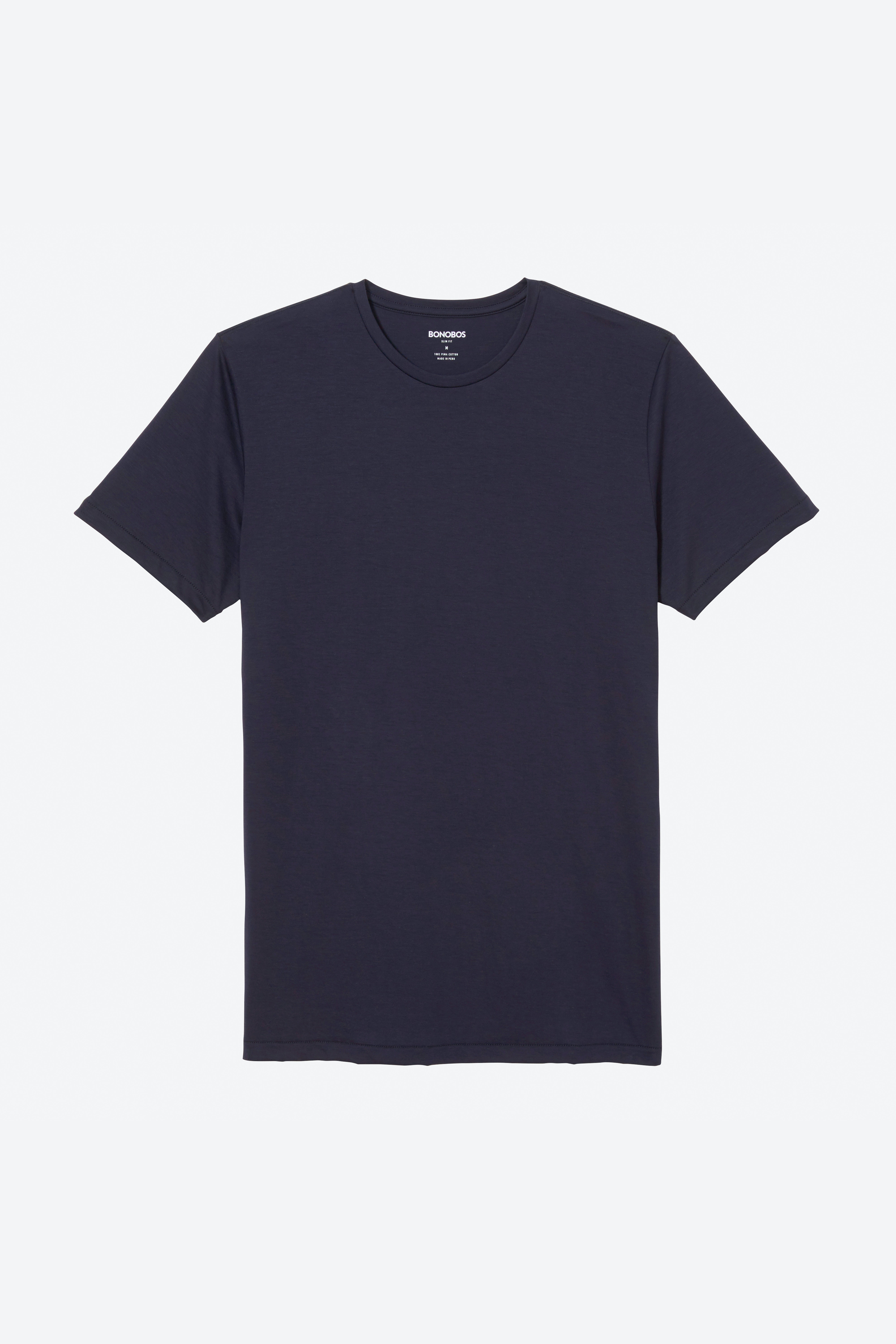 Superfine Crew Neck Tee