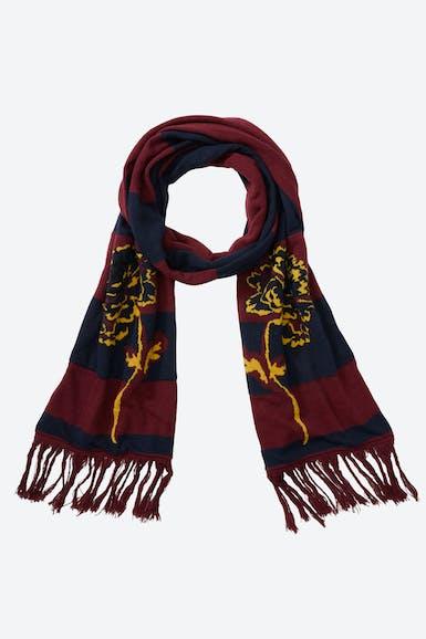 Lightweight Wool Soccer Scarf