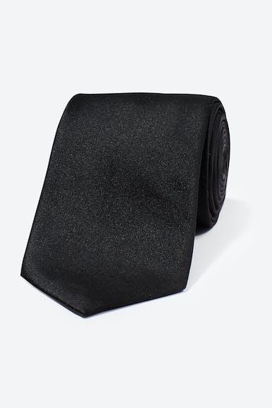 Satin Tuxedo Necktie - Long