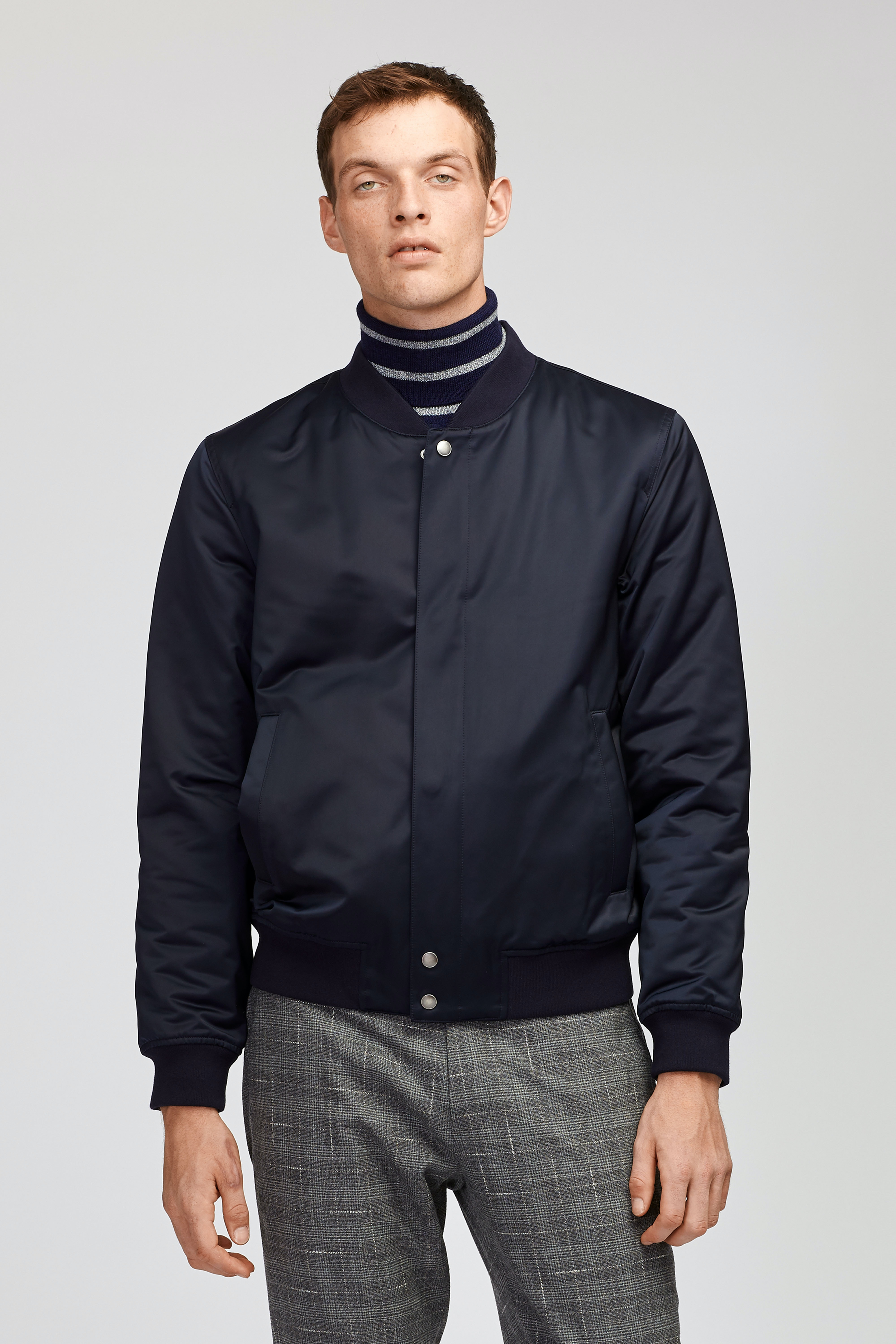 The Quilted Boulevard Bomber Jacket