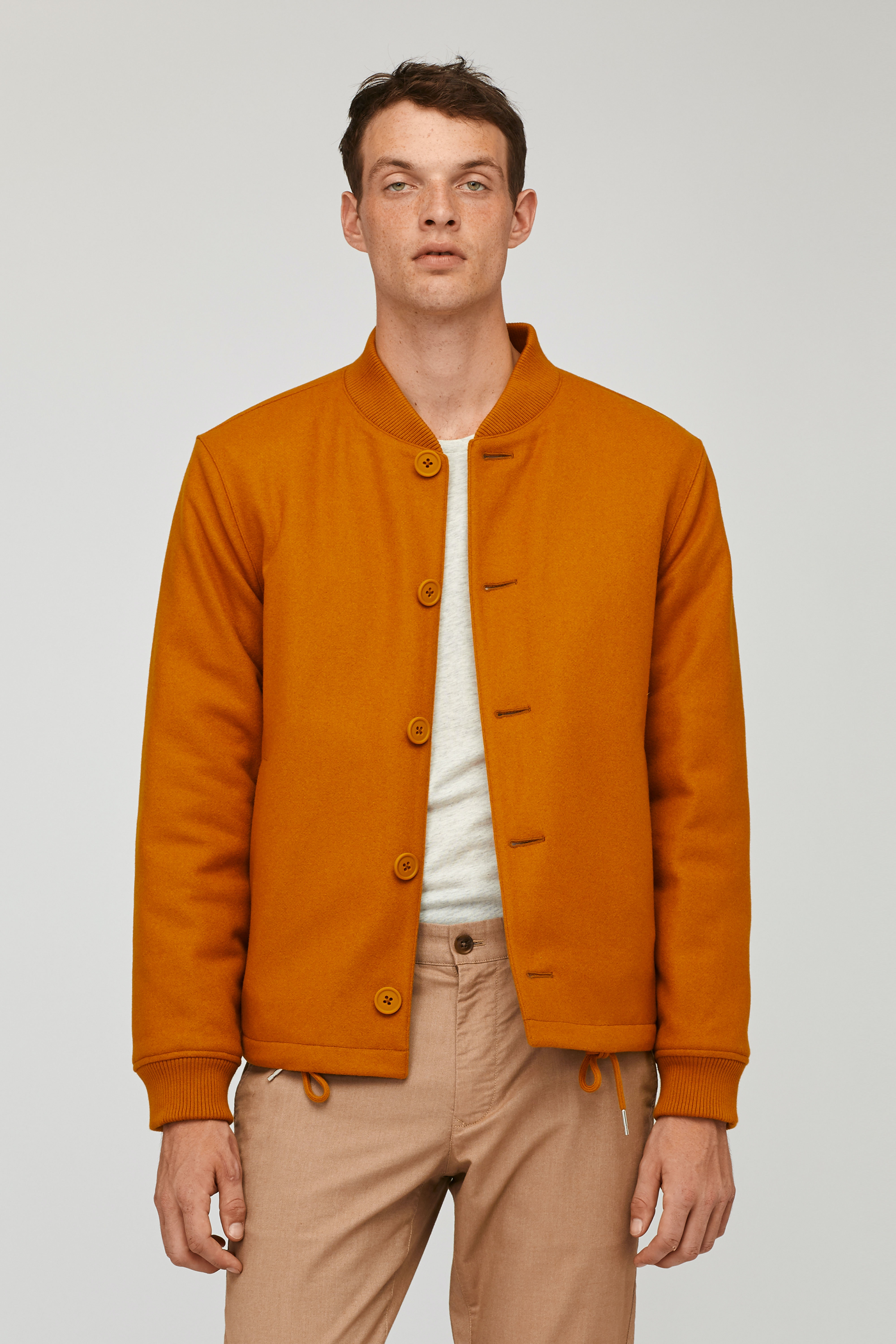 The Quilted Wool Bomber